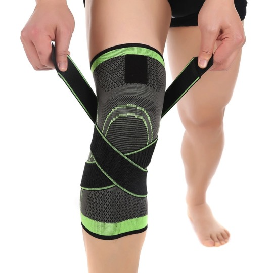 3D Knee Compression Brace Pad