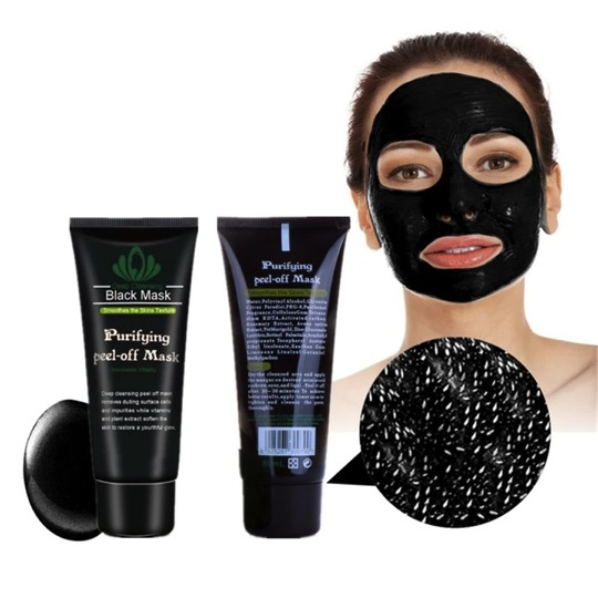 Deep Cleansing Blackhead Removal Charcoal Black Mask