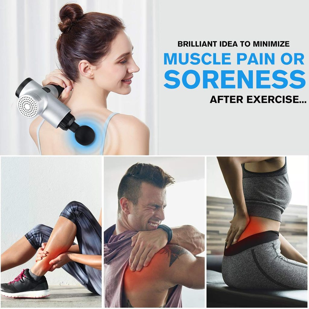 4-in-1 Muscle Massager - Pain Relief and Body Relaxation