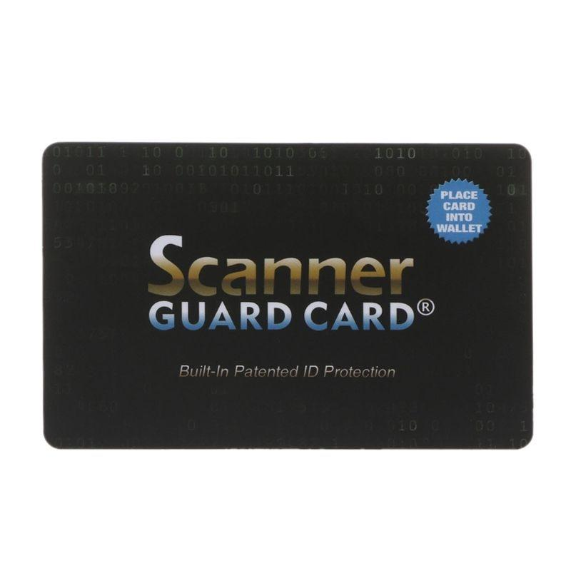 RFID Blocking Card - Protect your wallet from unauthorized scans