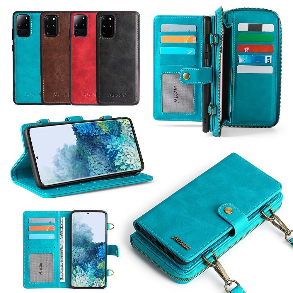 Crossbody Phone Wallet for Samsung